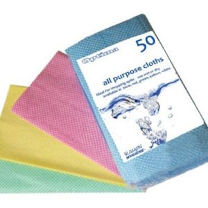 Hygiene cleaning cloths